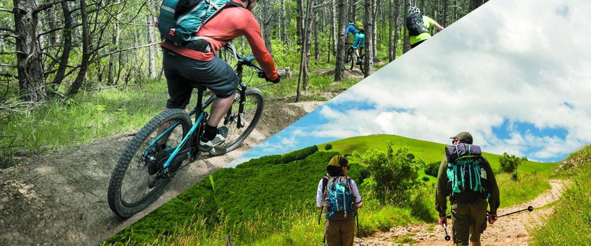 BIKE & TREKKING  Ideale punto di partenza e ristoro per te che ami mountain-bike, ciclismo e trekking. Da qui puoi percorrere itinerari e sentieri lungo le strade del Duca, tra Catria e Nerone, tra Carpegna e Mondavio fino all'Alpe della Luna  PASSIONE BIKE